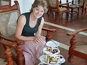 Colombo Sri Lanka - high tea