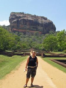 Sri Lanka rondreis - Sigiriya rots
