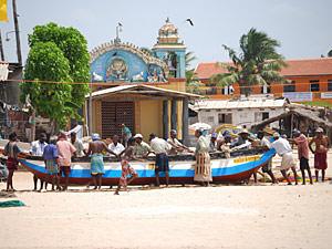 Trincomalee - strand Sri Lanka