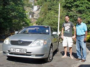 Reizen Sri Lanka - privé chauffeur