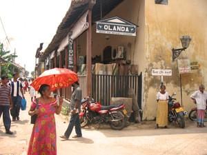 VOC stad Galle - Sri Lanka