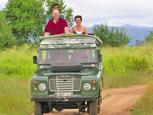 Sri Lanka bouwstenen - Jeepsafari