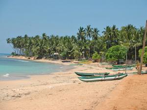 rondreizen Sri Lanka - strand Trincomalee