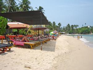 Strand Unawatuna - Sri Lanka