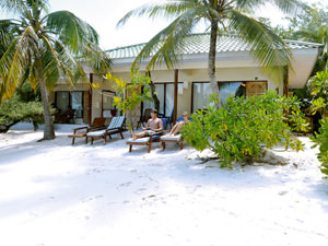 Reis Sri Lanka Malediven - bungalow
