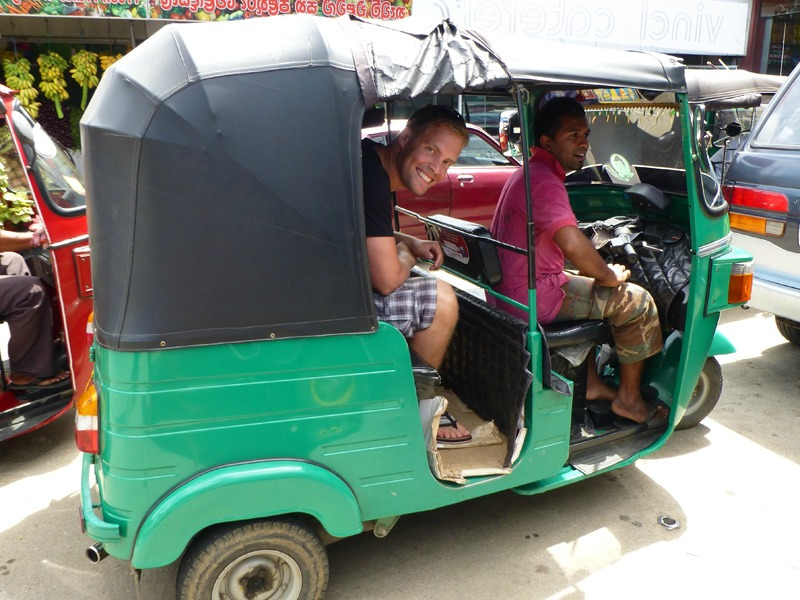 Colombo tuktuk