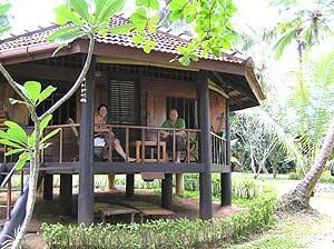 Sri Lanka strand - bungalow