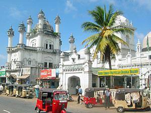 Koloniaal Sri Lanka - Colombo straatbeeld