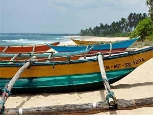 Sri Lanka Tangalle - boot