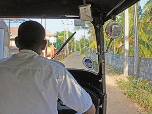 Vakantie Sri Lanka - chauffeur