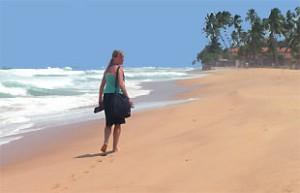 Unawatuna - Sri Lanka strand