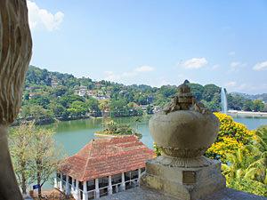 Kandy Sri Lanka - uitzicht