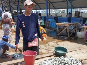 Vismarkt - Sri Lanka rondreis
