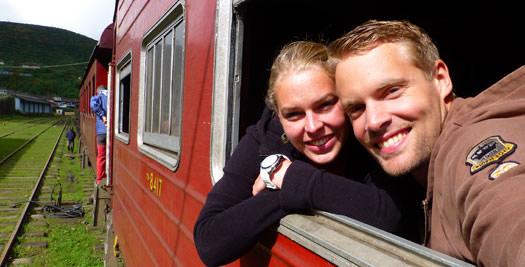 Per Trein door Sri Lanka reizen