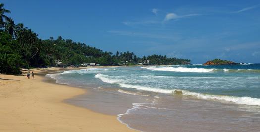 Rondreis Sri Lankan - strand