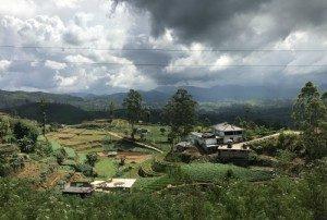 Sri Lanka - Uitzicht trein