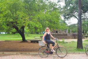 Fietsen in Sri Lanka, Polonnaruwa