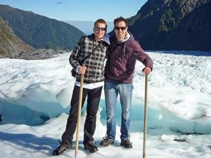 gletsjer Nieuw Zeeland vakantie