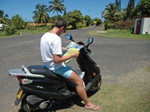 Langkawi scooter