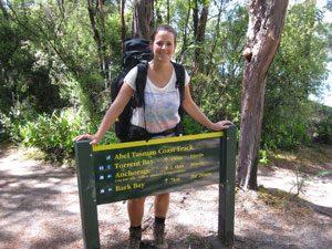 Nieuw Zeeland reis Abel Tasman track
