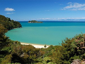 Abel Tasman Strand Nieuw Zeeland