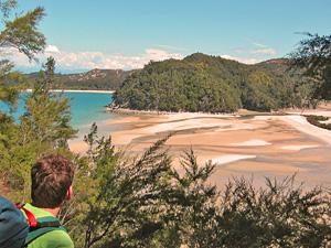 abel tasman uitzicht nieuw zeeland
