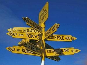 Auckland verkeersborden Nieuw-Zeeland
