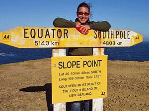 Nieuw Zeeland reis samenstellen - bordje
