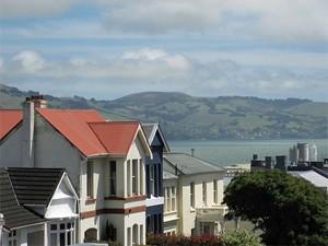 Dunedin centrum Nieuw-Zeeland