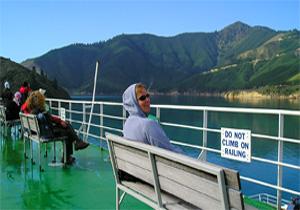 ferry bankje nieuw zeeland