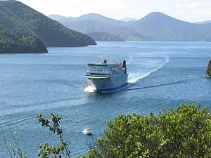 Ferry naar Picton Nieuw-Zeeland