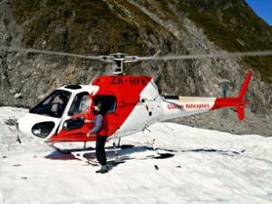 helikopter vlucht en wandelen bij Fox Glacier