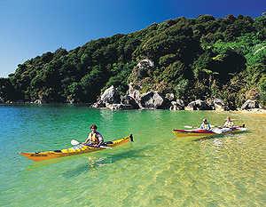 kayakken nieuw zeeland