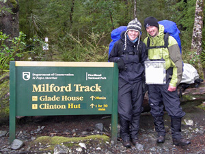 milford track bord nieuw zeeland