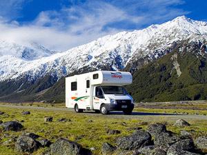 camper of huurauto Nieuw-Zeeland