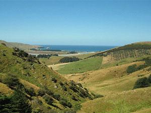 otago peninsula uitzicht nieuw zeeland