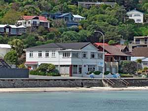 plimmerton hotel Nieuw Zeeland reis Wellington