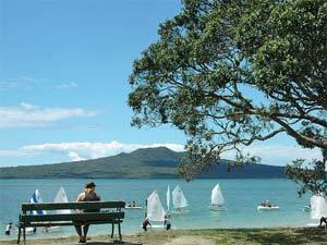 rangitoto Nieuw Zeeland reis Auckland