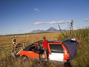 Goedkope camper Nieuw-Zeeland
