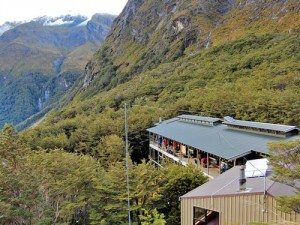 Routeburn Track hut