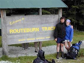 routeburn track start nieuw zeeland