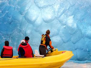 Nieuw Zeeland reis Mount Cook tasman glacier