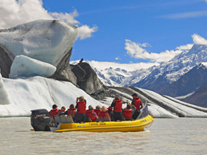 glacier mount cook nieuw zeeland