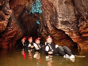 waitomo grotten excursie nieuw zeeland