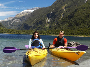 Rondreis Nieuw-Zeeland - kayakken