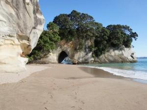 Vakantie Nieuw Zeeland strand
