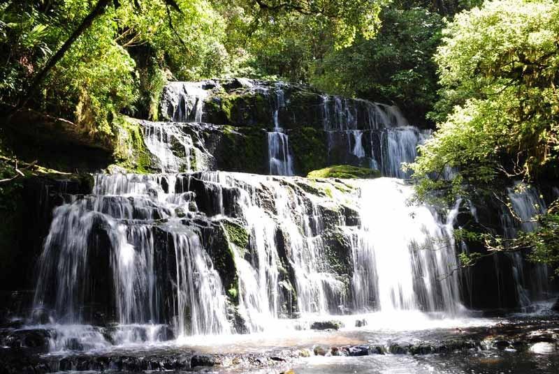 Nieuw Zeeland rondreis - watervallen