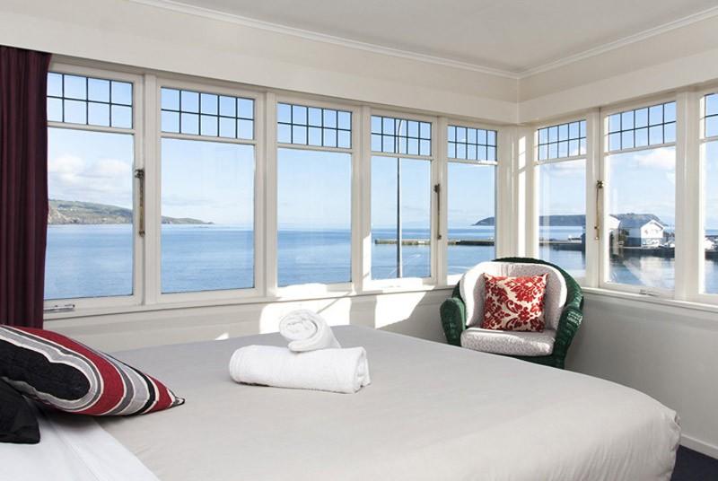 Uitzicht vanuit je kamer in Wellington
