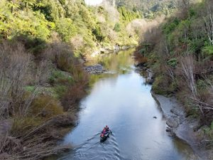 Kajak tour Whanganui Rivier Nieuw-Zeeland