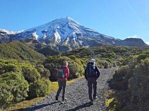 Hiken Mount Taranaki NZ